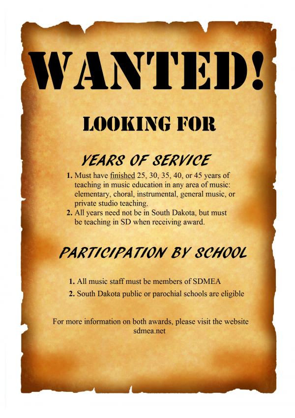 wanted poster Years of Service and Participation.png